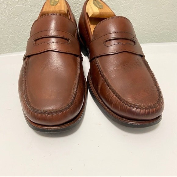 Johnston & Murphy Other - Johnston Murphy Men Leather Loafers Size 10M Brown